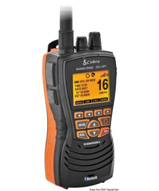 COBRA MARINE MR HH600 GPS BT EU VHF