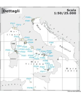 Carte Navimap IT377-IT378 I. de Pantelleria