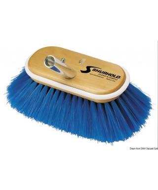 Brosse 6 pouces fibres souples bleus