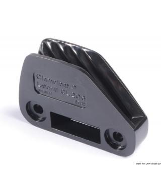Coinceur clamcleat CL 206 nylon pour écoutes 6-10mm droit