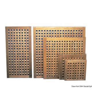 Caillebotis teck 800 x 800 mm épaisseur 22 mm