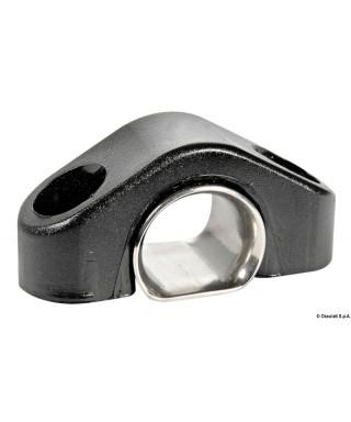 Filoir en nylon noir dériveurs renfort inox 6 mm