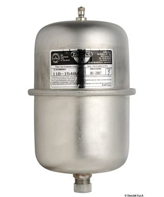 Vase d'expansion pour autoclaves et chauffe eau 1 L