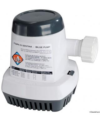 Pompe fond de cale automatique 600 S 12V 4A Débit 38 L/m