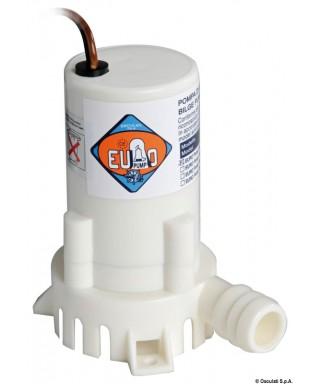 Pompe fond de cale Europump 12V 2A Débit 19 L/m