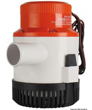 Pompe de fond de cale immergée Maxi G3500 24V Débit 221 L/m