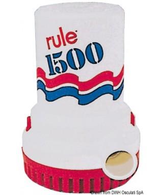Pompe immergée Rule 1500 24V Débit 100 L/m