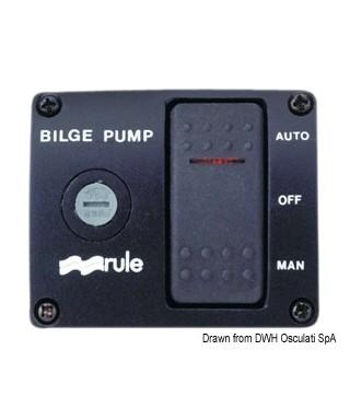 Interrupteur Rule DeLux pour pompes de cale 24V 3 positions
