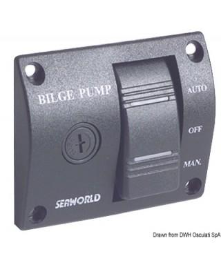 Tableau de commande pour pompe de cale 12V 25A