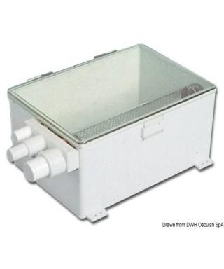 Collecteur eaux usées fourni sans pompe et flotteur automatique