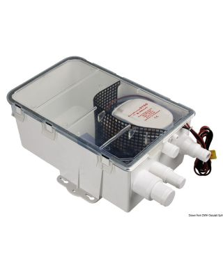 Collecteur d'eaux usées Europump Auto 24V Débit 48 L/m
