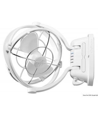 Ventilateur Caframo Sirocco blanc 12/24V 3 vitesses avec Timer