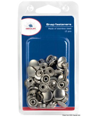Kit 15 boutons pression Prym et outil de fixation blister