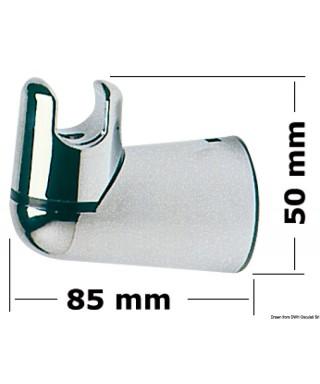 Support douche orientable pour cloisons