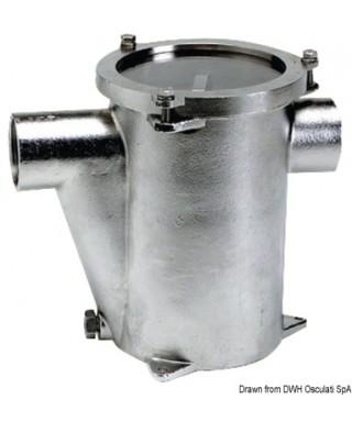 """Filtre eau refroidissement moteur Inox 316 RINA 2"""""""