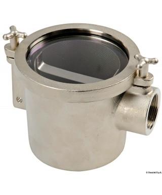 """Filtre eau laiton nickelé RINA 3/4"""" Débit 4000L/heure - 0,1 bar"""