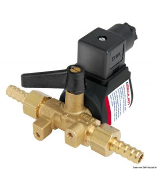 Electrovanne pour distribution carburant 12V RINA 200L/h Maxi