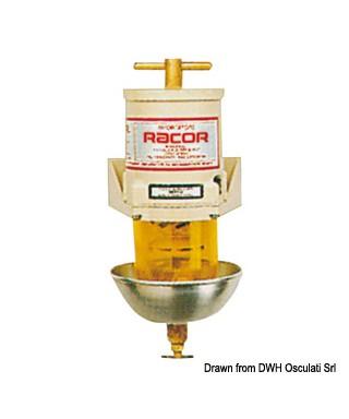Filtre pour gasoil RACOR 500MA Débit 180L/h - continu