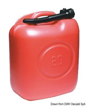 Jerrican pour carburant Eltex 20 litres avec bec verseur articulé