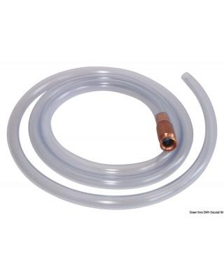 Pompe manuelle transvasement liquides tuyau 15 mm