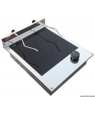 Plan cuisson électrique vitrocéramique 1 feu 1200W