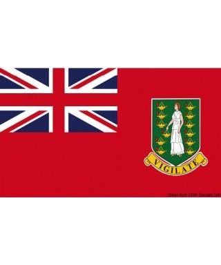 Pavillon marine Iles Vierges Britanniques 20x30 cm