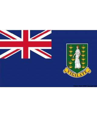 Pavillon national Iles Vierges Britanniques 20x30 cm