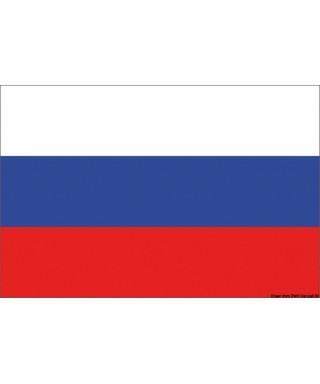 Pavillon Russie 20 x 30 cm en tissu de polyester teintes indélébiles