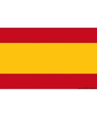 Pavillon Espagne 40 x 60 cm en tissu de polyester teintes indélébiles