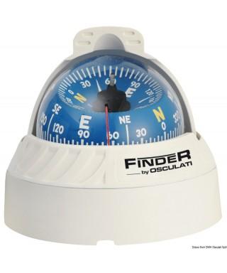 """Compas Finder 2""""5/8 sur plan blanc/bleu"""