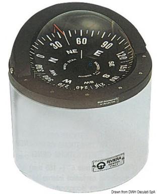 Compas RIVIERA B6/W5 Eclairage 24V Pour voiliers