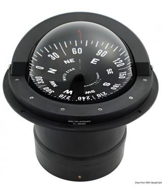 Compas RIVIERA B6/W3 Eclairage 24V Pour voiliers