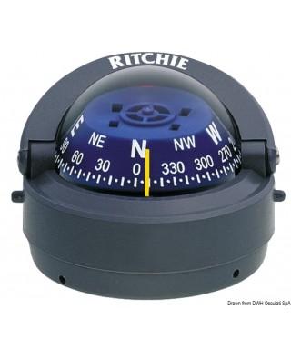 """Compas externe RITCHIE Explorer 2""""3/4 Corps gris Rose bleu"""