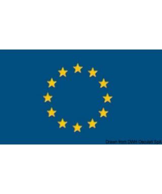 Pavillon Union Européenne + Italie 30 x 45 cm