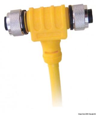 Câble puissance NMEA 2000 pour système en T 5M