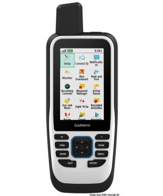 GPSMAP portable 86s Accelerometer barometric altimeter et compass