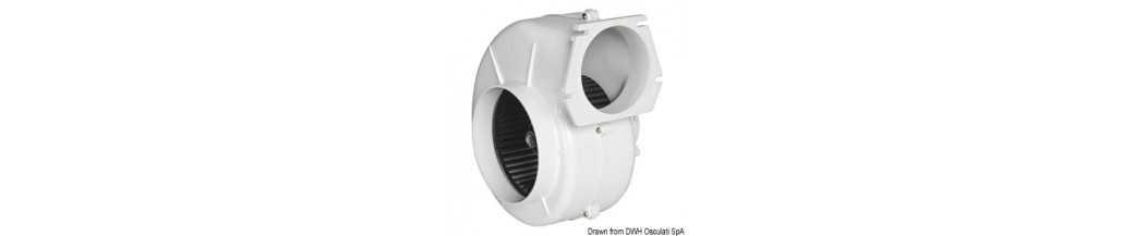 Aspirateur centrifuge pour fixation à paroi homologué RINA