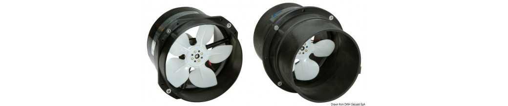 Ventilateurs axiaux grande capacité