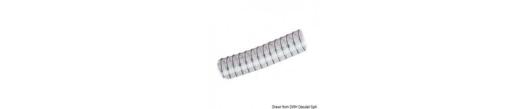 Tuyau spirale classique pour sanitaires pompes
