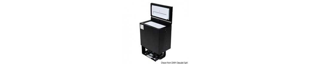 Mini-réfrigérateur ISOTHERM à encastrement vertical BI16