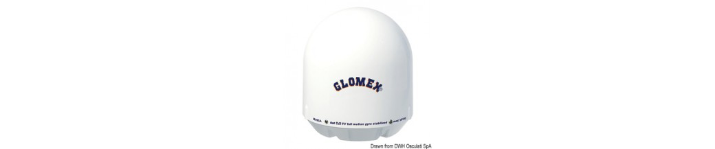 Antennes TV satellite GLOMEX