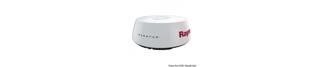 Antenne radar à semi-conducteurs RAYMARINE