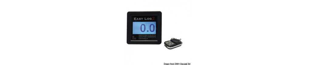 Compteurs de vitesse et LOGs sans transducteur