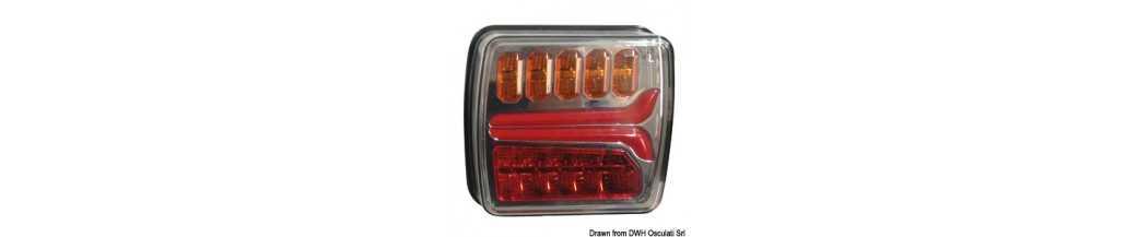 Feu arrière à LED dynamique